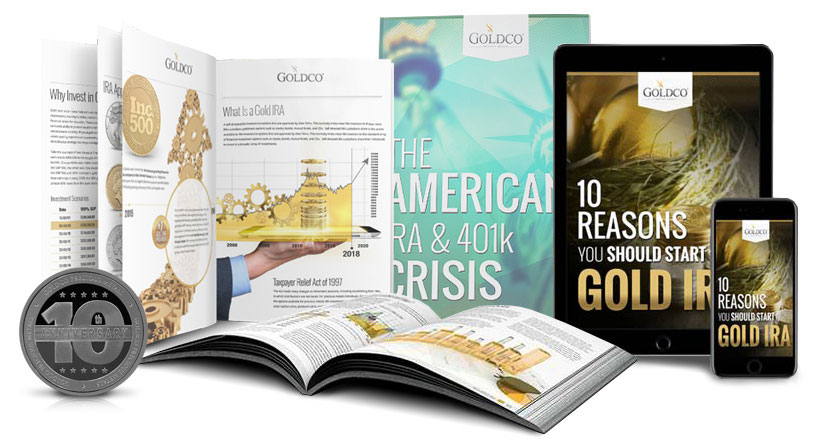 claim your free investing in gold kit