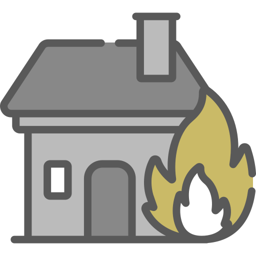 fire risk for home stored bullion